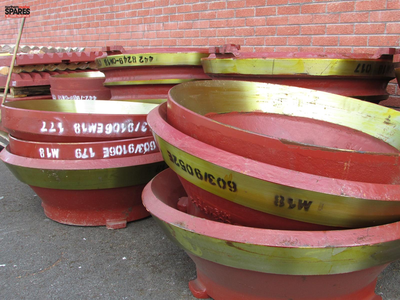 603/9106 Pegson 1000 Cone Mantel   Northern Crusher Spares